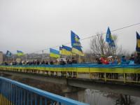 У День соборності України тальнівчани  утворили  ланцюг єднання